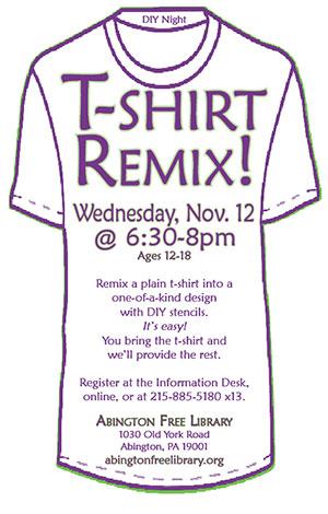 T-Shirt Remix!