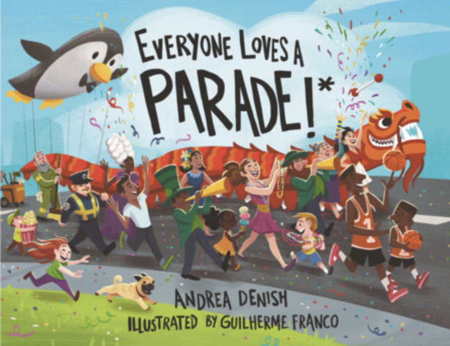 Andrea Denish, Abington Free Library Children's Department staff member, reads her book Everyone Loves a Parade!*