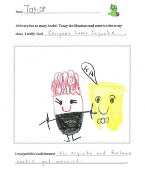 The Pre-K Class of Abington Presbyterian Nursery School Thank you letters